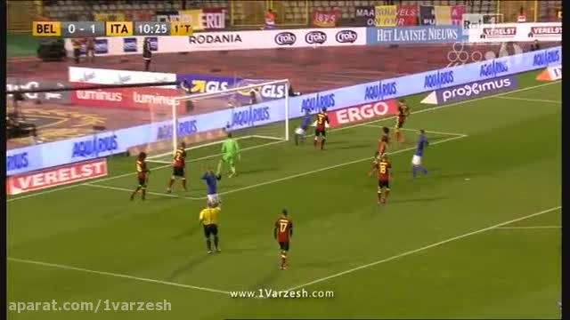 بلژیک 3-1 ایتالیا