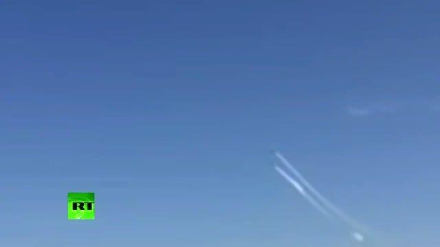 برخورد 2 هواپیمای ایتالیایی در نمایش هوایی