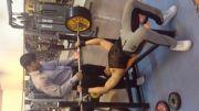 پرس سینه 150 کیلو- مسعود مؤمنی نژاد