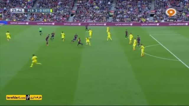 خلاصه بازی بارسلونا 6-0 ختافه
