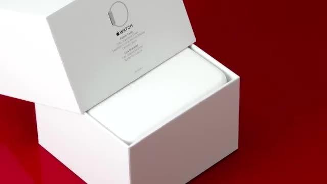 جعبه گشایی اپل واچ در انگجت