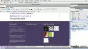 آموزش CSS- فصل چهارم: استفاده از Dreamweaver - بخش چهارم