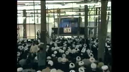 روضه خوانی مرحوم کوثری در اولین محرم پس از رحلت امام