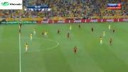 گل دوم فرد به اسپانیا