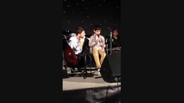 سامی یوسف- اجرای ترانه حسبی ربی با ابراهیم در لوتون2015