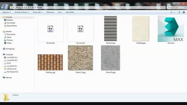 کل فایل های پروژه کامل ویلا A8
