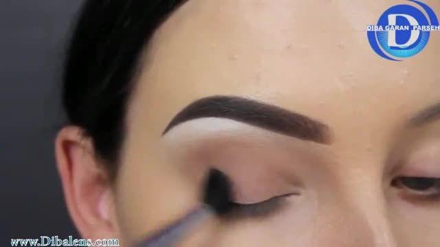 آموزش گام به گام آرایش  چشم های روشن(مخصوص روز)