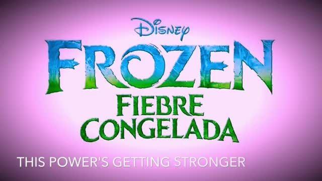اولین آهنگ( تولد یخزده)frozen fever