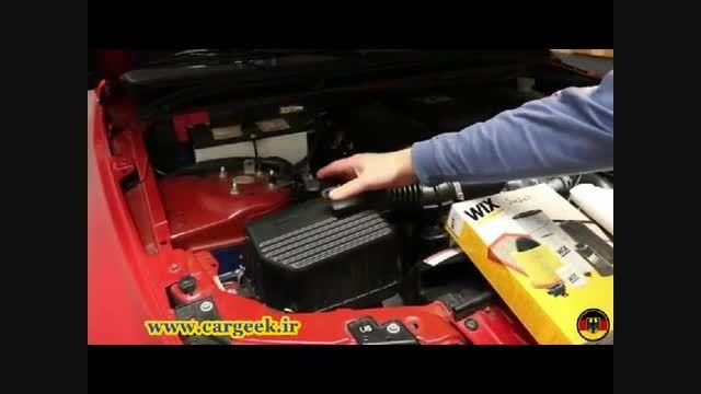آموزش تعویض فیلتر هوای موتور سوزوکی گرند ویتارا