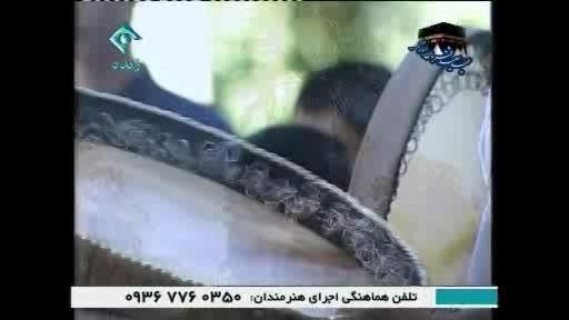 گروه دف نوازی عندلیب شیراز - اجرای زنده شبکه اول سیما