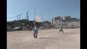 فوتبال خیابانی(سبک آزآد)