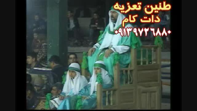 خطبه مسلم(ع) نرگس خانی در تعزیه حضرت مسلم (ع) ۸۶ قودجان