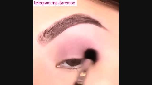 میکاپ چشم با خط چشم زیبا در تارمو