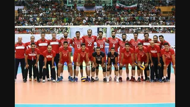 ویدیو اسلایدی تیم ملی والیبال ایران
