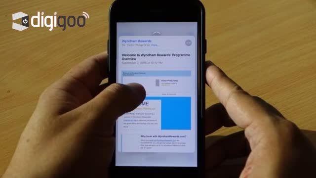 استفاده از 3D Touch در گوشی iPhone 6S