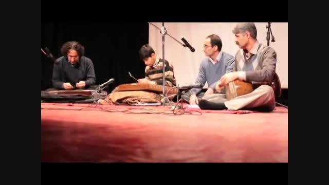 مراسم دهه فجر اجرای موسیقی توسط گروه موسیقی شاهد نواز