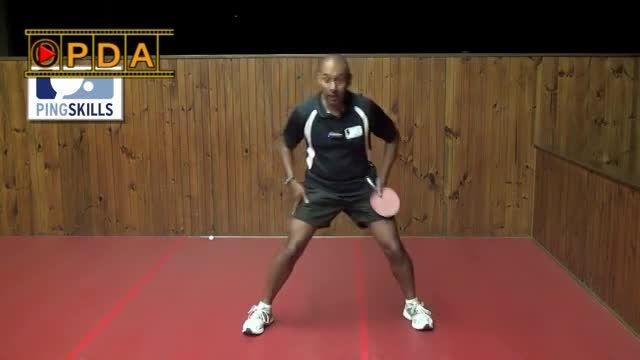 OPDA آموزش پینگ پنگ:نحوه ی حرکت پاها هنگام بازی