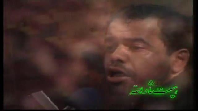 مداحی زیبا و قدیمی حاج محمود کریمی-تا نفس دارم میگم