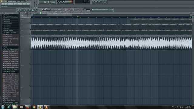 اجرای زیبای آهنگ Brother Louie مدرن تاکینگ با FL Studio