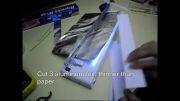 ساخت خازن 20 میکروفاراد باکاغذ و آلومینیم
