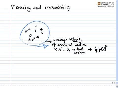 مکانیک سیالات پیشرفته - 07 - ویسکوزیته و برگشت ناپذیری
