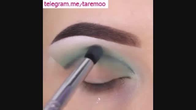 آرایش چشم عروس با سایه در تارمو