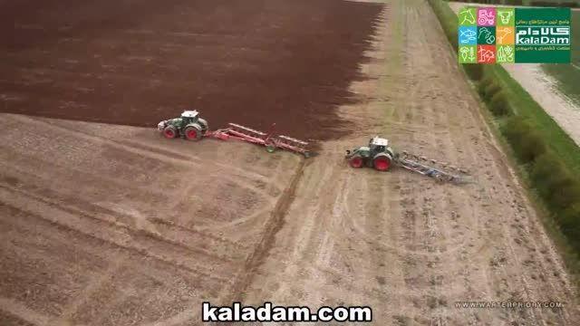 تکنولوژی پیشرفته شخم زمین زراعی