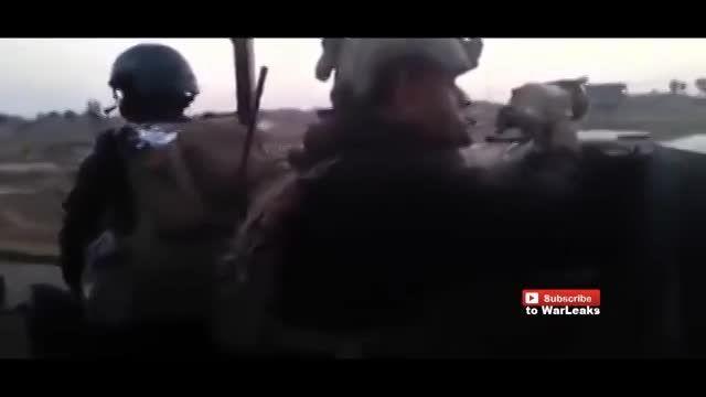 نبرد نیروهای ویژه ارتش عراق با داعش در استان الانبار