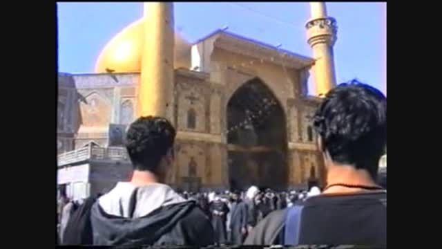 مدح طوفانی علی (ع) - شعر خوانی شاعر اهل بیت حسن خزائی