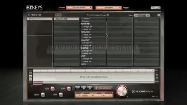 دانلود رایگان VST پیانو ToonTrack EZkeys Grand Piano
