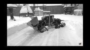ماشین کنترلی برف روب خیلی جذاب