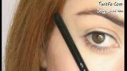 ویدئو کلیپ آرایش صورت و چشم 2013