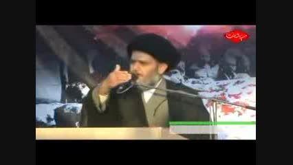 حجت الاسلام سید حسین مومنی جانبازان و شهدای ولایی