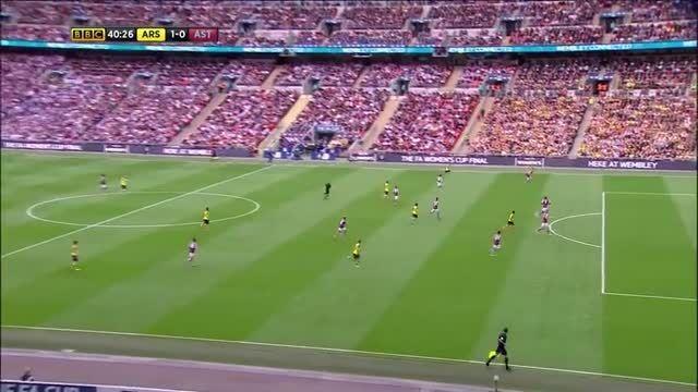 آرسنال 4-0 استون ویلا(گل های بازی)