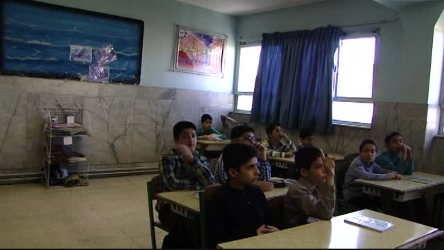کلیپ تصویری از کلاس ریاضی - دبستان پیام غدیر
