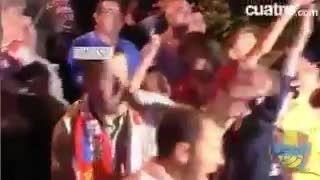 مسی مسی گفتن هواداران گیخون به رونالدو