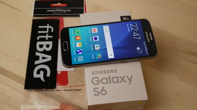 Samsung Galaxy S6 -Unboxing
