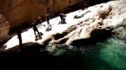 تنگه رغز - پرش از ارتفاع - آبشار وداع