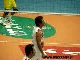 محمدرضا گلزار و تمرین والیبال