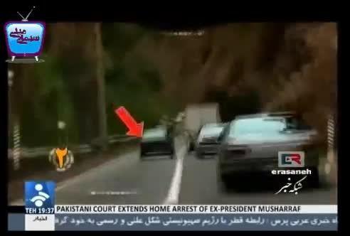 بازداشت راننده مست توسط کنترل نامحسوس پلیس