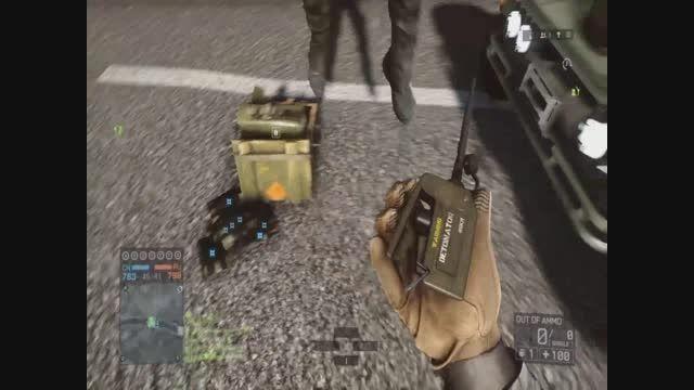 مسخره بازی در Battlefield 4