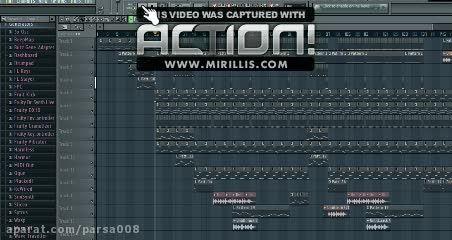 آهنگ تکنو ترکیبی با صدای زنده ی سنتور-اف ال استودیو