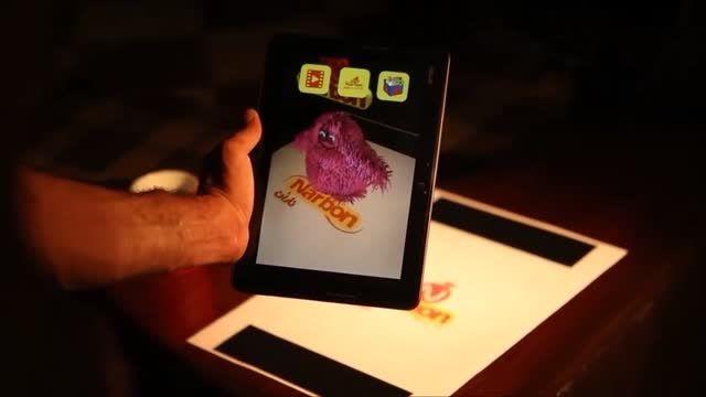 تکنولوژی واقعیت افزوده در صنایع غذایی کیک ناربن