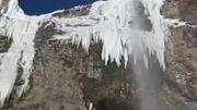 آبشار سنگان یا پهنه حصار