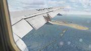 لندینگ بوئینگ 777 در فرودگاه دبی 2