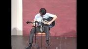 گیتاریست ایرانی طوفان کرد
