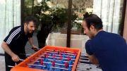 خنده دارترین کلیپ فوتبال دستی ( سیدجواد هاشمی و حسن ریوندی)