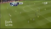 استون ویلا 1-2 آرسنال