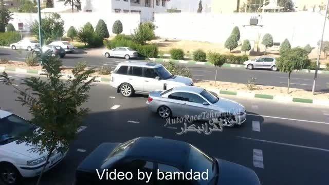 رنجرور در خیابان ایران زمین