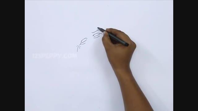 آموزش طراحی کاریکاتور 27 (طراحی کاریکاتور اوباما)5